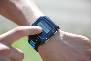 As you can see the Garmin 920 Looks like a normal watch in size.