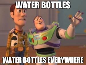 Water bottles, water bottles