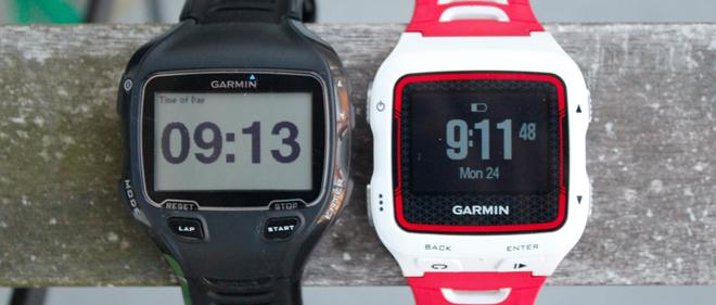 910XT 920XT side by side