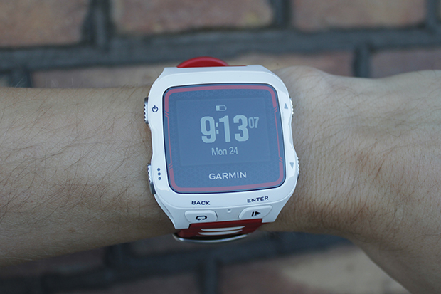 The Forerunner 920XT on my small wrist