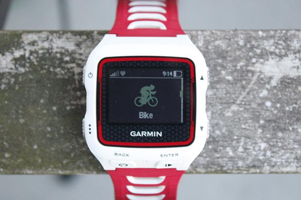 Garmin Forerunner 920XT Cycling mode