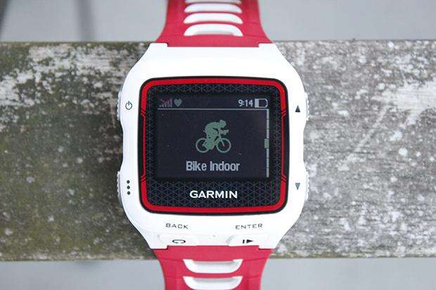 Garmin Forerunner 920XT Cycling indoors mode