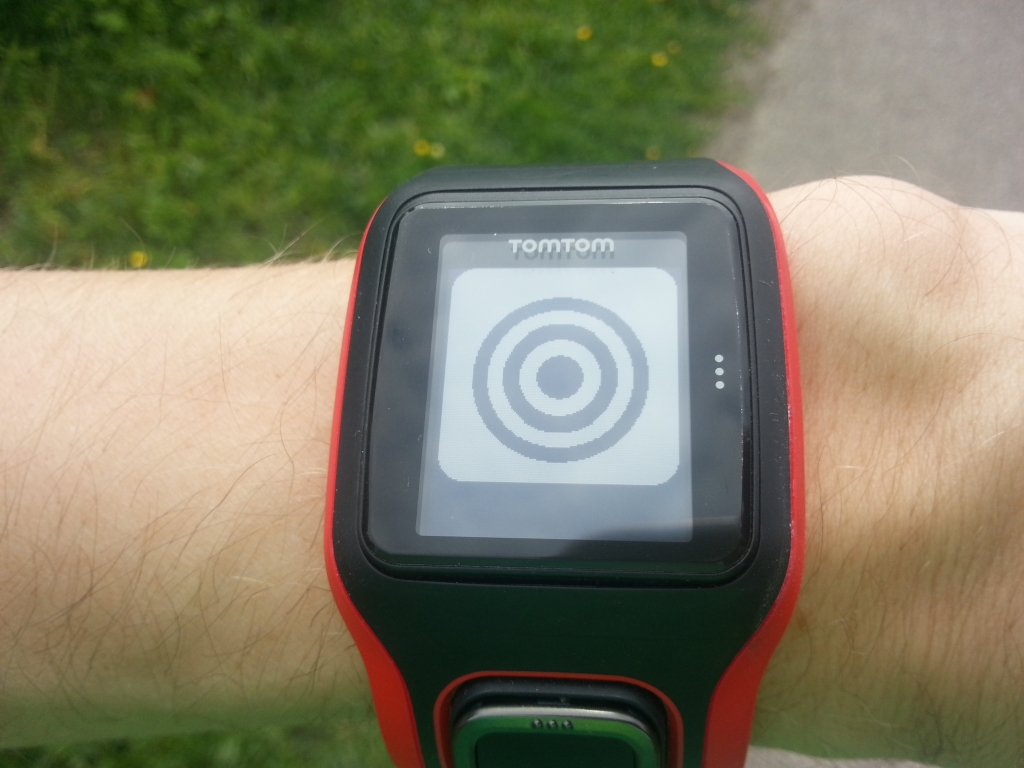 TomTom Multisport Cardio - In zone run training
