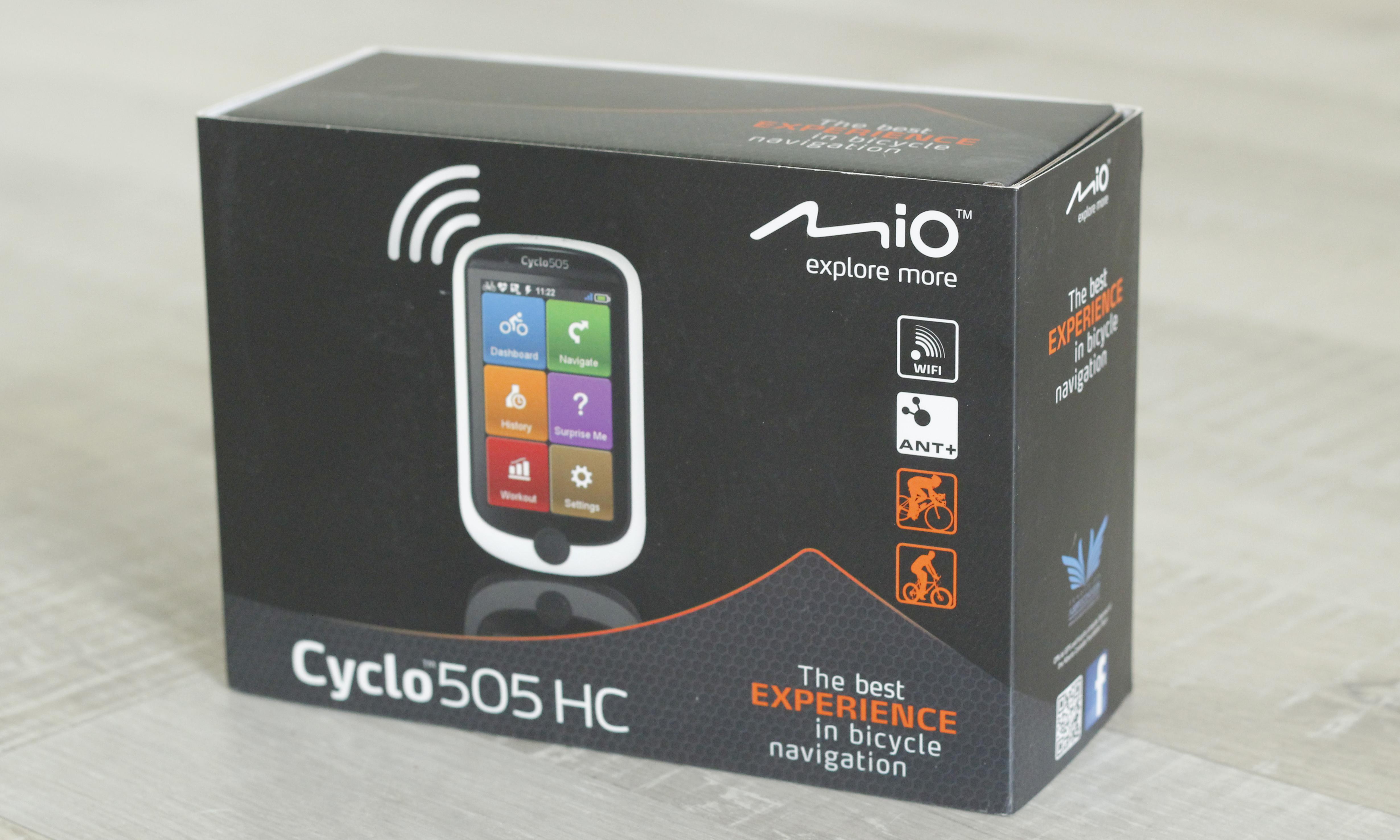 Mio 505 box