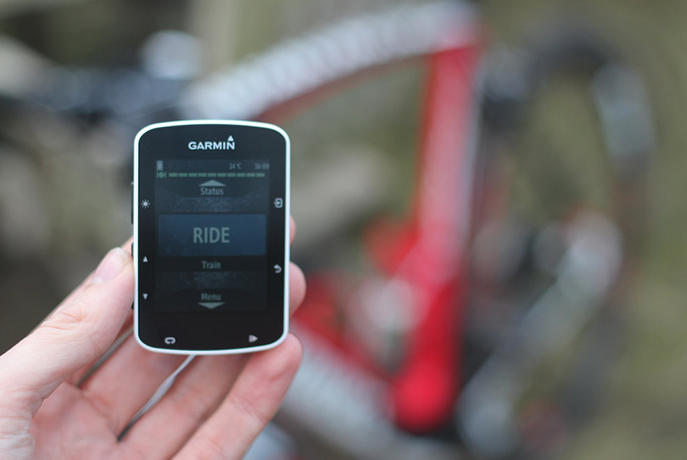 Garmin Edge 520 Ride Mode