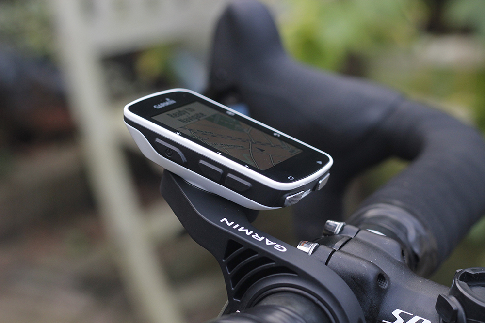 Garmin Edge 520 front mount
