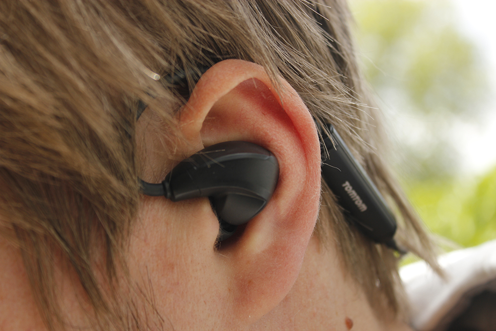 TomTom Spark Headset in ear
