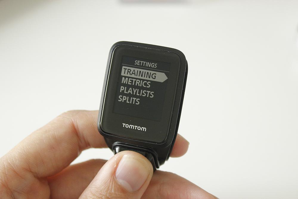TomTom Spark Run Settings 2
