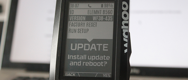elemnt firmware update