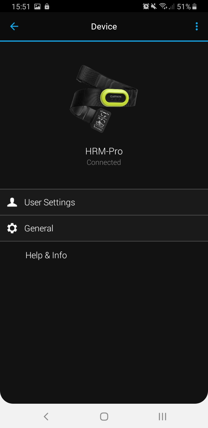 HRM-Pro-Connect-Device