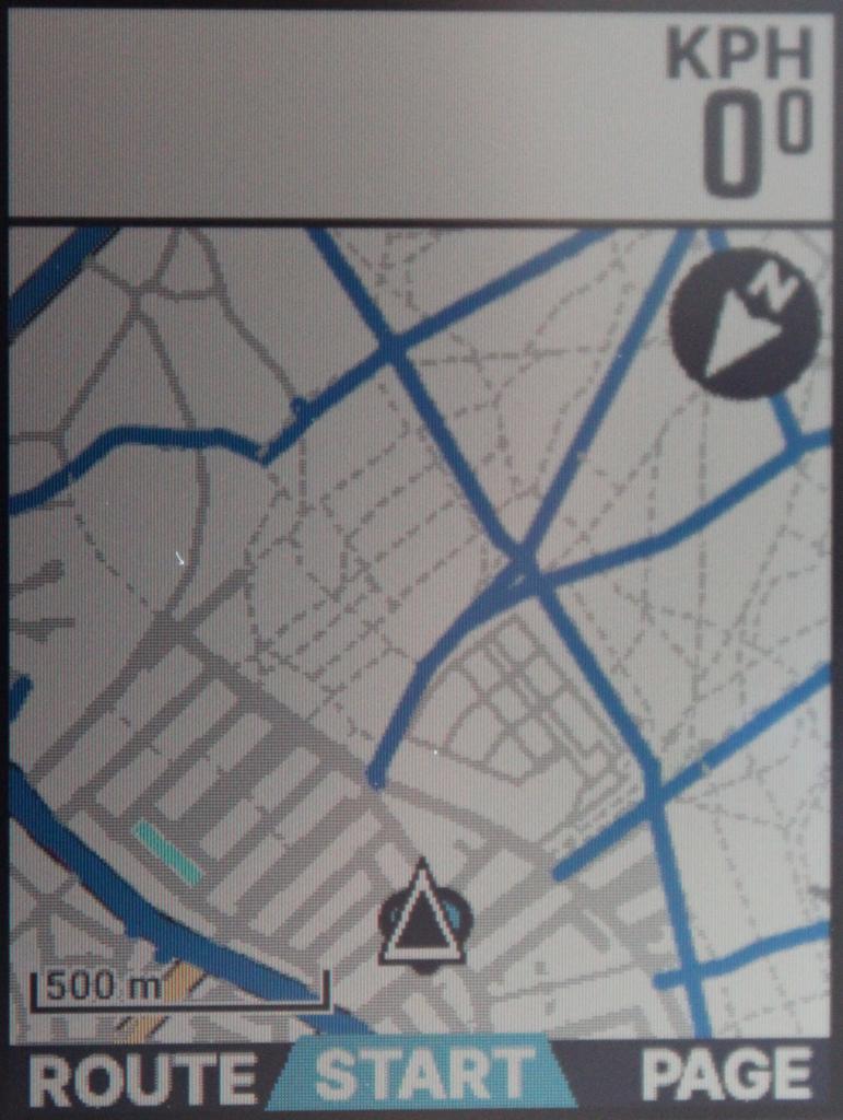 ELEMNT BOLT Maps detail