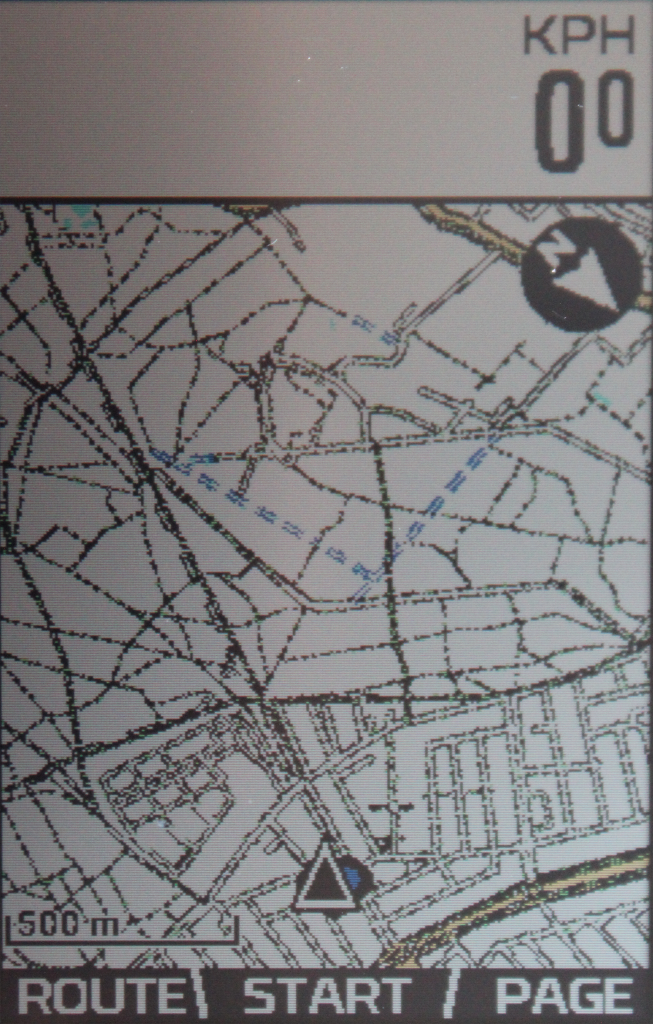 ELEMNT ROAM Maps detail