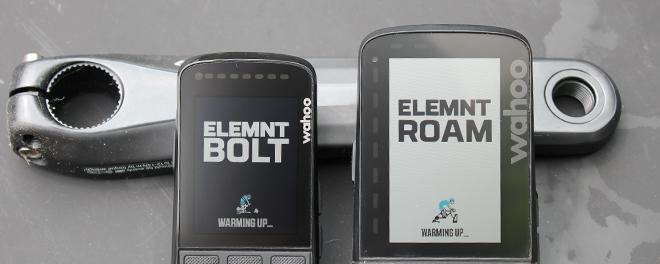 Wahoo ELEMNT BOLT and ROAM Compared